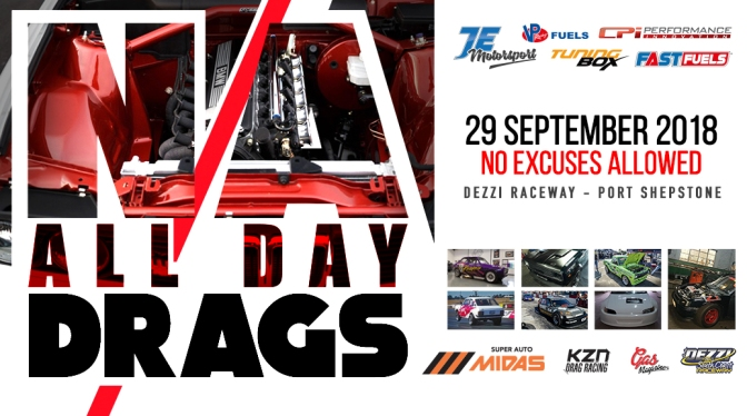 N/A All Day Drags – 29 September 2018